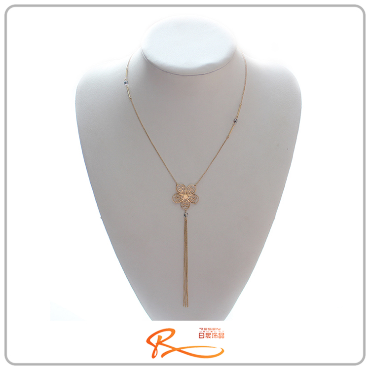high end fashion costume jewelry gemstone gold chain