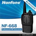 China proveedor nanfone nf-668 profesional fm walkietalkie vhf uhf radio de dos vías walky talky de larga distancia