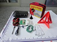 Car Emergency Kits/ Safety Warning Triangle/ High Level Inspection Service/ The best Quality Control in China