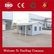 new product high quality luxury steel prefab house folding container