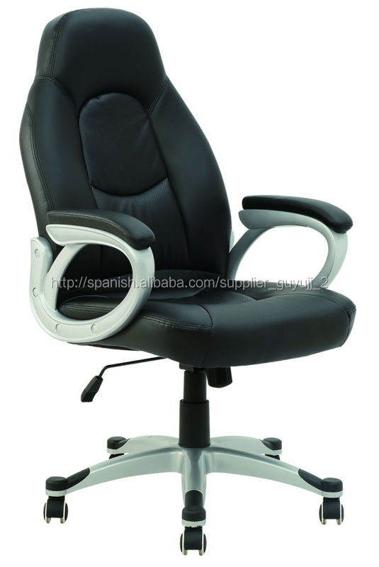 Y-2877 High Back Black Leather Office Computer Desk Chair