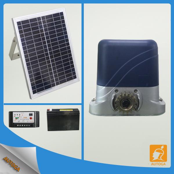 Dc Solar Gate Motor Automatic Sliding Gate Opener Heavy