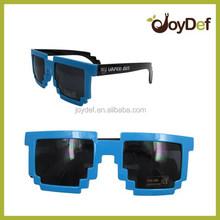High Quality Custom Logo Pixel Sunglasses 8 Bit Sunglasses