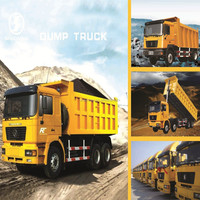 40 tons SHACMAN 6X4 chinese dump truck