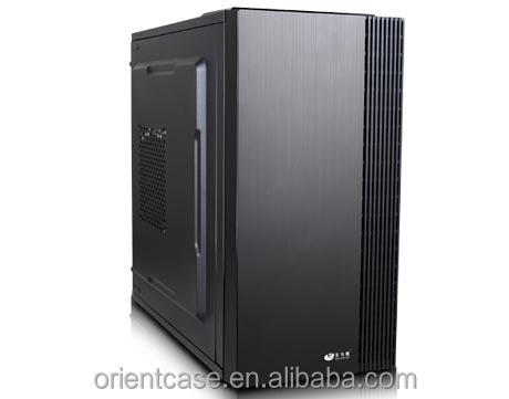 Fornitore dorato Mid Tower In Alluminio Per Chassis OEM Case Del Computer