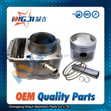 Loncin CG125 Motorcycle Cylinder kit Water Cooled Engine 56.5mm diameter High Quality Motorcycle Parts Engine Piston Ring