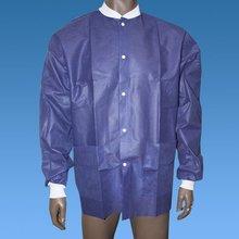 Disposable Short Sleeve Lab Coat Uniform, Simple Lab Coat Manufacturer