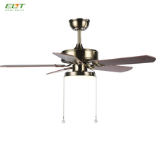 Dining Room Led Light Wiring Ceiling Fan with 5 Blades