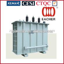 33kv 3 phase oil immersed toroidal 2 windings ac to dc transformer