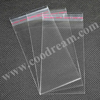 Free Shipping 6x10cm 2300pcs/pack clear poly cheap plastic bopp packaging Polypropylene Bags