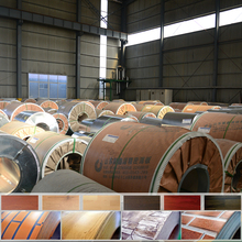 Moisture Proof prepainted galvanized orange/brick red/grass green roofing sheet