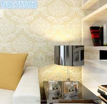 2014 premium korea design vinyl (PVC) wallpaper/non-woven wallpaper from china famous wallpaper factory