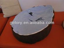 Popular Poft Eco-friendly Velvet Baby Crazy Sofa,Bean Bag