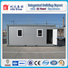 UN supplier 20ft prefab home container for social house