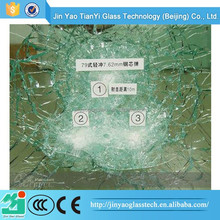 Colorful and Durable bullet proof glass for counter