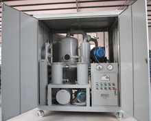 High Vacuum Dielectric Oil Filtering/ Purifying/ Dehydrating/ Processing Plant