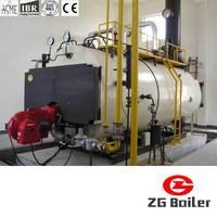 Horizontal oil gas fired 1-20 ton/h cheap wns series steam boiler