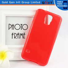 Competitive Price Solid Color Case For Samsung S5 Replacement, High Quality TPU Case For Galaxy S5