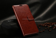 For HTC M9 phone case with wallet photo frame and stand holder genium flip leather back cover case for HTC M9