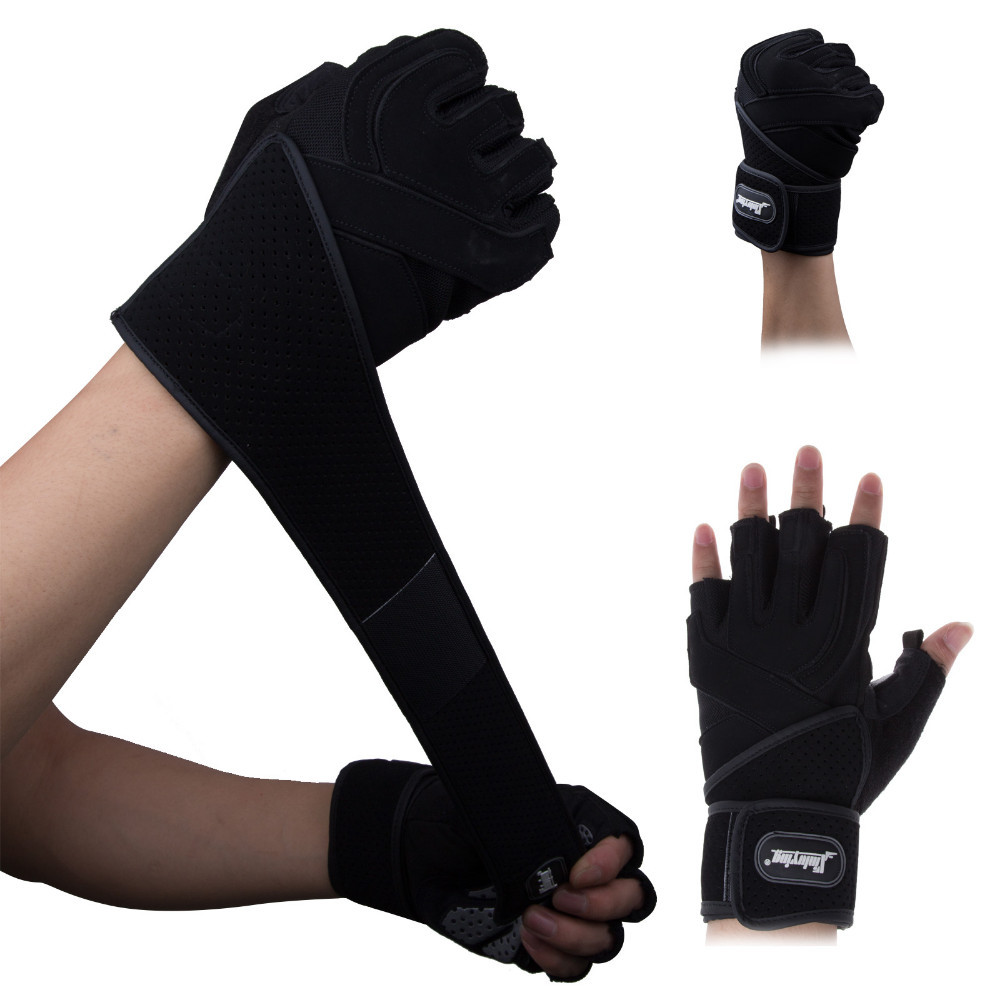 Women Work Out Gloves Weight Lifting Gym Sport Exercise: Gym Body Building Training Fitness Gloves Sports Weight