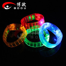 Chinese Factory LED Bracelet,LED Party wristband ,Colorful wristband for party