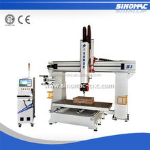 Sinomac S1-1325 5 axis cnc milling cnc router kit wood