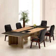 Dongguan city oval glass conference table fashion conference table