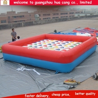 Giant inflatable twister, inflatable twister mattress, cheap inflatable twister game