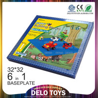 import china products agent plastic building blocks 6in1 baseplate 32*32 DE00001