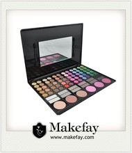 2015 Newest hot sale professional 78 color branded eyeshadow makeup palettes