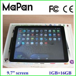 best sale 9.7 inch android tablet pc with mtk8382 quad core /3g tablet pc mobile phone