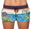 2015 Hot sell !!! fashionable quick dry Custom swimming/ board shorts for girl