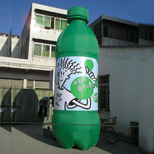 green giant customized hot sale inflatable water bottle