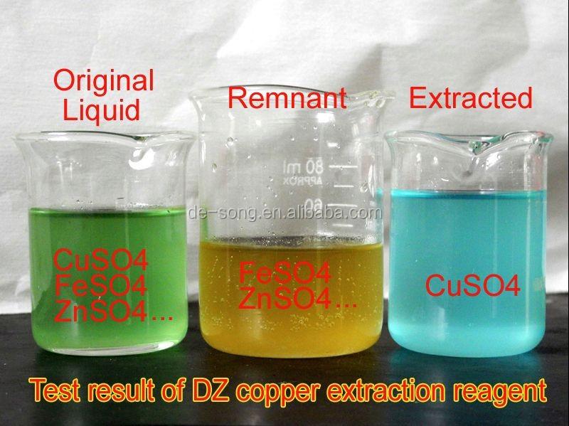 Добыча меди специально химической медь экстракт реагент DZ988N