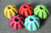 Pet products small rubber ball for dog play
