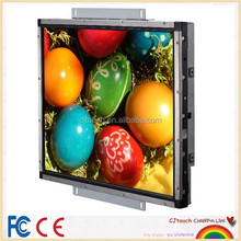 17 inches open frame touch screen monitor , elo lcd touch screen monitor for sale
