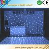 made in china indoor curve led star curtain