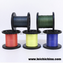 7 colors in stock 8 strand braided fishing line