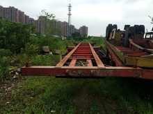 used semi skeletal trailers container chasis for sale