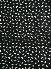Perforated leather fabric for handbag