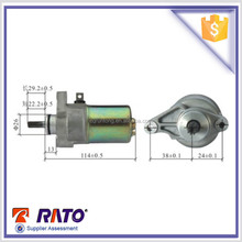 Top quality wholesale JY110 motorcycle starting motor, F8 motorcycle starter motor, 9 teeth starter motor