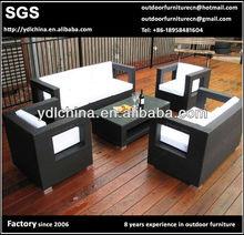 all weather PE rattan wicker outdoor sofa lounge