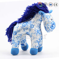 Plush horse for kids, Customised horse toys,kids jumping horse CE/ASTM safety stardard,