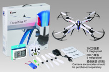 2015 Latest drone Tarantula X6 300M long distance control 2.4G 4CH IOC RC Quadcopter drone With 2MP/5MP Camera