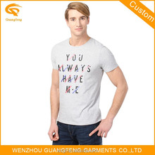 Custom Own Logo Various Colors Design Fashion Brand T Shirts For Men