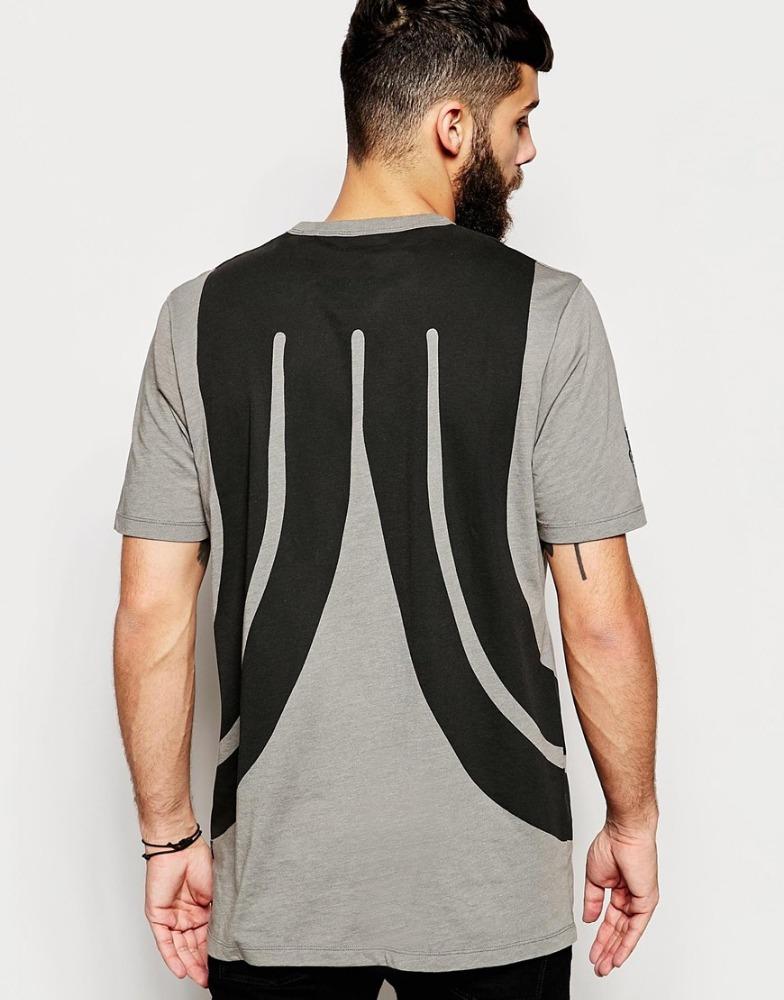 New design men plus size vogue t shirt cotton tall t for T shirt design wholesale