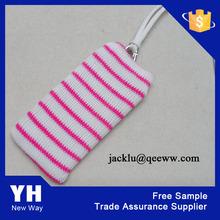 Professional Custom Knit Mobile Phone Bag