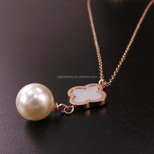 gold long chain pearl necklace designs