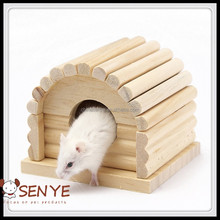 Luxury wooden hamster cage fission wooden hamster cage