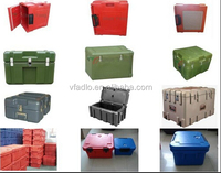 rotomolded plastic military transit box/container/tool box/rotationally moulded plastic box